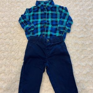 Just one you by Carter's matching outfit